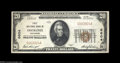 National Bank Notes:Wisconsin, Oshkosh, WI - $20 1929 Ty. 2 First NB Ch. # 6604