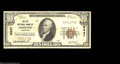 National Bank Notes:Wisconsin, City NB, Oshkosh, Wisconsin Grouping.