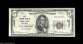 National Bank Notes:Wisconsin, Phillips, WI - $5 1929 Ty. 1 First NB Ch. # 13487