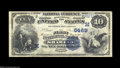 National Bank Notes:Wisconsin, Shawano, WI - $10 1882 Date Back Fr. 545 The First NB ...