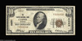 National Bank Notes:Wyoming, Casper, WY - $10 1929 Ty. 1 The Casper NB Ch. # 6850