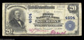 National Bank Notes:Wyoming, Sheridan, WY - $20 1902 Plain Back Fr. 653 The First NB
