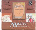 Memorabilia:Trading Cards, Magic: The Gathering Unlimited Starter Deck Sealed Box (Wizards of the Coast, 1993)...
