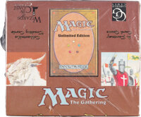 Magic: The Gathering Unlimited Starter Deck Sealed Box (Wizards of the Coast, 1993)