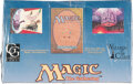 Memorabilia:Trading Cards, Magic: The Gathering Legends Edition Sealed Booster Box (Wizards of the Coast, 1994)...