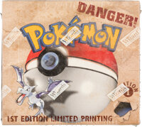 Pokémon First Edition Fossil Set Sealed Booster Box (Wizards of the Coast, 1999)