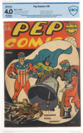Golden Age (1938-1955):Humor, Pep Comics #26 (MLJ, 1942) CBCS Restored VG 4.0 Moderate (P) Off-white pages....