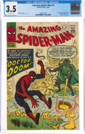 Silver Age (1956-1969):Superhero, The Amazing Spider-Man #5 (Marvel, 1963) CGC VG- 3.5 Off-white pages....