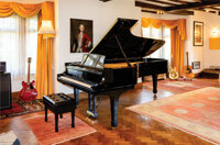 Sir Elton John's Steinway Model D Grand Piano Number 426549 Used Exclusively in His Concerts from 1974 – 1993