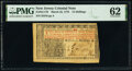 Colonial Notes:New Jersey, New Jersey March 25, 1776 12s PMG Uncirculated 62.. ...