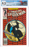 Modern Age (1980-Present):Superhero, The Amazing Spider-Man #300 Newsstand Edition (Marvel, 1988) CGC NM- 9.2 White pages....