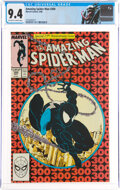Modern Age (1980-Present):Superhero, The Amazing Spider-Man #300 (Marvel, 1988) CGC NM 9.4 Off-white to white pages....