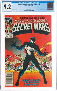 Marvel Super Heroes Secret Wars #8 Newsstand Edition (Marvel, 1984) CGC NM- 9.2 White pages