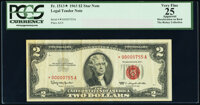 Low Serial Number Fr. 1513* $2 1963 Legal Tender Note. PCGS Apparent Very Fine 25