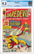 Silver Age (1956-1969):Superhero, Daredevil #2 (Marvel, 1964) CGC NM- 9.2 Off-white to white pages....