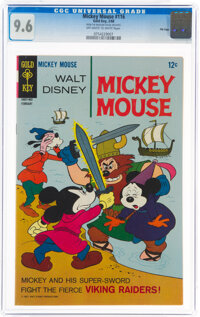 Mickey Mouse #116 File Copy (Gold Key, 1968) CGC NM+ 9.6 Off-white to white pages