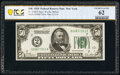 Fr. 2100-B $50 1928 Federal Reserve Note. PCGS Banknote Uncirculated 62