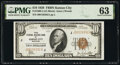 Small Size:Federal Reserve Bank Notes, Fr. 1860-J $10 1929 Federal Reserve Bank Note. PMG Choice ...