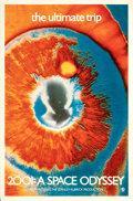 """Movie Posters:Science Fiction, 2001: A Space Odyssey (MGM, 1969). Rolled, Very Fine+. One Sheet (27"""" X 41"""") Psychedelic Eye Style. . ..."""