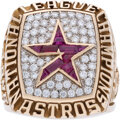 Baseball Collectibles:Others, 2005 Houston Astros National League Championship Prototype Ring....