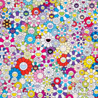 Takashi Murakami (b. 1962) The Nether World, 2020 Offset lithograph in colors on smooth wove paper 23-5/8 x 23-5/8 in