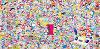 Takashi Murakami X Fujiko F. Fujio Wouldn't It Be Nice if We Could Do Such a Thing, 2018 Offset lithograph in colors o...