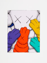 KAWS (b. 1974) Untitled from Urge, 2020 Screenprint in color on Saunders Waterford HP hi-white paper 17 x 12-3/4