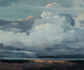 Paintings, Eric Sloane (American, 1905-1985). Grand Canyon, 1965. Oil on Masonite. 27-1/2 x 33 inches (69.9 x 8...