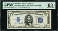 Small Size:Silver Certificates, Fr. 1651* $5 1934A Mule Silver Certificate. PMG Choice Uncirculated 63 EPQ.. ...