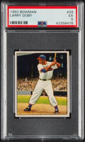 Baseball Cards:Singles (1950-1959), 1950 Bowman Larry Doby #39 PSA EX 5. One of the be...