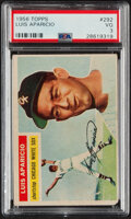 Baseball Cards:Singles (1950-1959), 1956 Topps Luis Aparicio #292 PSA VG 3. Offered is...