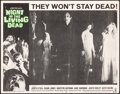 """Movie Posters:Horror, Night of the Living Dead (Continental, 1968). Fine/Very Fine. Lobby Card (11"""" X 14""""). Horror.. ..."""