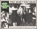 """Movie Posters:Horror, Night of the Living Dead (Continental, 1968). Very Fine-. Lobby Card (11"""" X 14""""). Horror.. ..."""