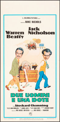 """The Fortune & Other Lot (Columbia, 1975). Folded, Very Fine-. Italian Locandinas (2) (13"""" X 27""""). Comedy..."""