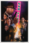 Movie/TV Memorabilia:Autographs and Signed Items, Mob City Screen-Used Showgirl Headdress, Frank Darabont Signed Presskit, and Drew Struzan Signed Poster Art Print (TNT... (Total: 3 Items)
