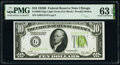 Small Size:Federal Reserve Notes, Fr. 2002-G $10 1928B Light Green Seal Federal Reserve Notes. Two Consecutive Examples. PMG Choice Uncirculated 63 EPQ.. ... (Total: 2 notes)