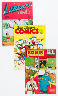 Golden Age Humor Group of 19 (Various Publishers, 1940s) Condition: Average FN.... (Total: 19 )