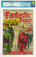 Silver Age (1956-1969):Superhero, Fantastic Four #12 (Marvel, 1963) CGC VF/NM 9.0 Off-white pages....