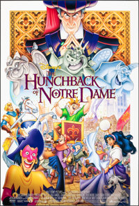 """The Hunchback of Notre Dame (Buena Vista, 1996). Rolled, Very Fine/Near Mint. One Sheet (27"""" X 40"""") DS, John A..."""