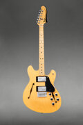 Musical Instruments:Electric Guitars, 1976 Fender Starcaster Natural Semi-Hollow Body Electric G...