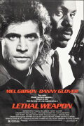 """Movie Posters:Action, Lethal Weapon & Other Lot (Warner Bros., 1987). Rolled, Overall: Very Fine-. One Sheets (3) (27"""" X 40.25"""") SS. Action.. ... (Total: 3 Items)"""