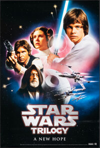"""The Star Wars Trilogy: A New Hope (20th Century Fox, 2004). Rolled, Very Fine/Near Mint. Video One Sheet (27"""" X 40&..."""