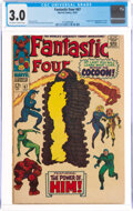 Silver Age (1956-1969):Superhero, Fantastic Four #67 (Marvel, 1967) CGC GD/VG 3.0 Off-white to white pages....