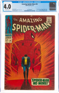 Silver Age (1956-1969):Superhero, The Amazing Spider-Man #50 (Marvel, 1967) CGC VG 4.0 Off-white pages....