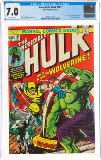 The Incredible Hulk #181 (Marvel, 1974) CGC FN/VF 7.0 Off-white pages