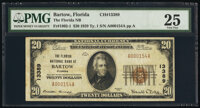 Bartow, FL - $20 1929 Ty. 1 The Florida National Bank Ch. # 13389 PMG Very Fine 25