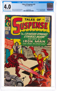 Tales of Suspense #52 (Marvel, 1964) CGC VG 4.0 Cream to off-white pages