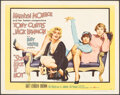"""Movie Posters:Comedy, Some Like It Hot (United Artists, 1959). Folded, Very Fine-. Half Sheet (22"""" X 28"""") Style B. Comedy.. ..."""