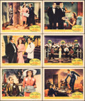 """Movie Posters:Musical, You Were Never Lovelier (Columbia, 1942). Very Fine-. Lobby Cards (6) (11"""" X 14""""). Musical.. ... (Total: 6 Items)"""