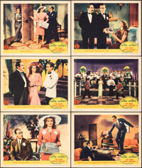 """You Were Never Lovelier (Columbia, 1942). Very Fine-. Lobby Cards (6) (11"""" X 14""""). Musical. ... (Total: 6 Item..."""